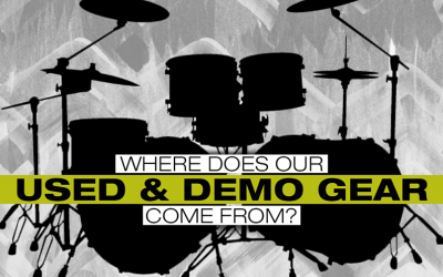 Where Does Our Used and Demo Gear Come From?