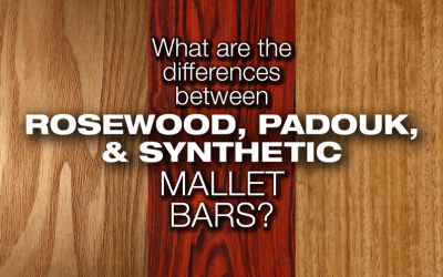 Differences Between Natural and Synthetic Mallet Bars