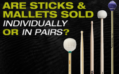 Are Sticks and Mallets Sold Individually or in Pairs?