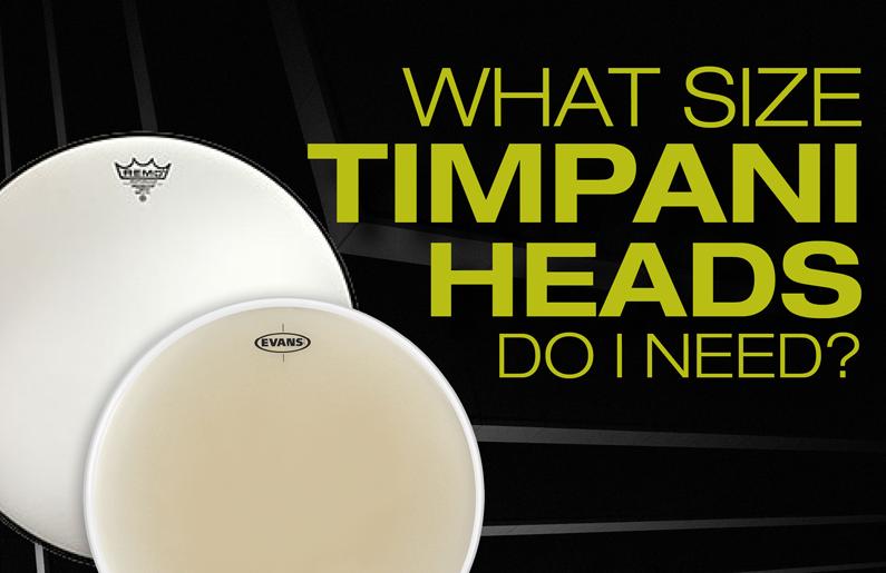 What Size Timpani Heads Do I Need?