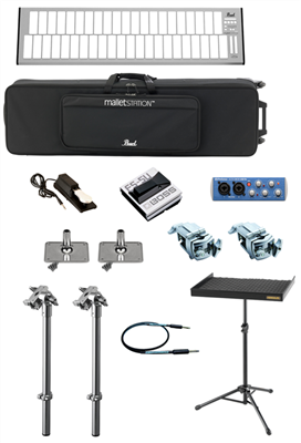 PEARL EM1 MALLETSTATION 3.0 OCT USB CONTROLLER MARCHING BUNDLE