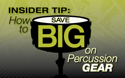 Insider Tips: How to Save on Percussion Gear