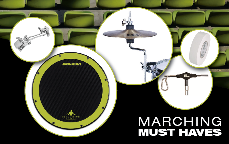 5 Marching Must-Haves